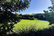 Beautiful well kept lawns..