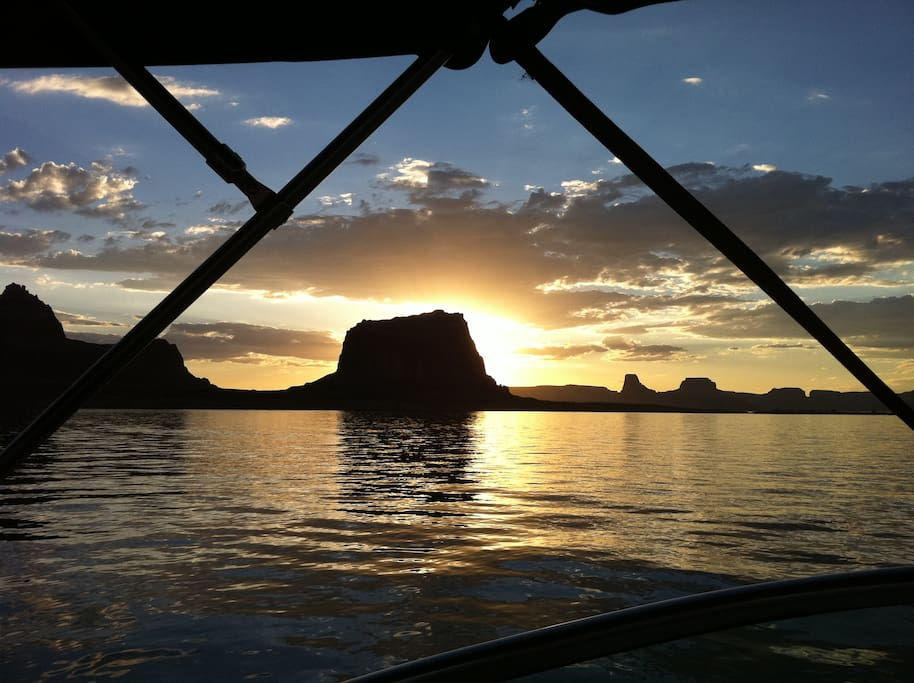A wonderful day on Lake Powell