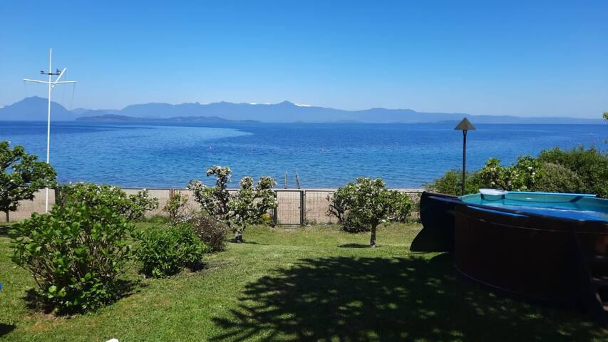 Cabaña en Playa Coqiue - Lago Ranco