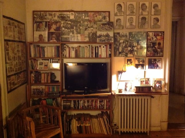 Library-TV room
