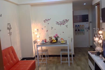 Beside MTR 5 double bed 2 Bar in MK - 旺角 - Apartment