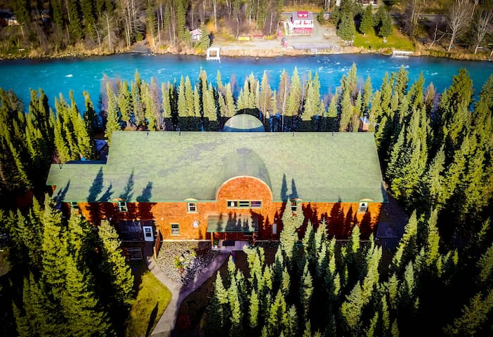 Entire Facility Alaska Legends Kenai River Lodge
