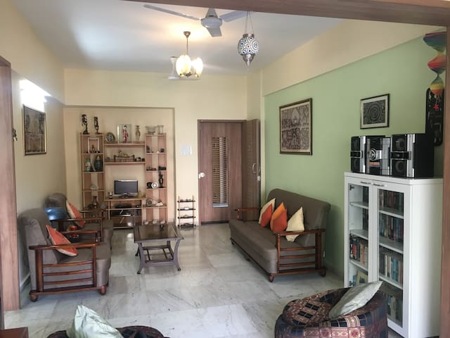 Beautiful, Green, Comfortable Fully furnished home