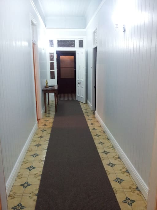 Over the years many people have walked into this hallway. Lounge bedrooms and entry to dining room. It has a hidden secret?