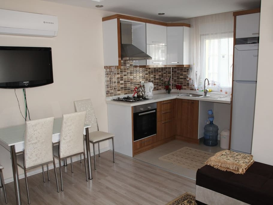 1+1 Apartment for rent in Antalya