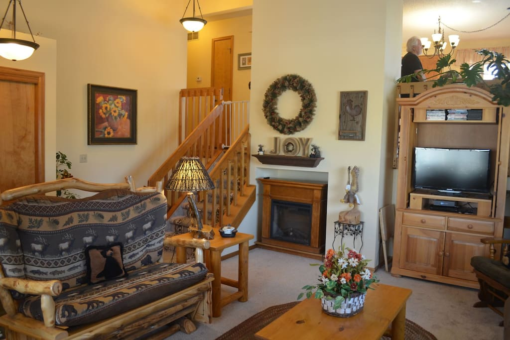 This split level home is cozy and the perfect fit for the whole family