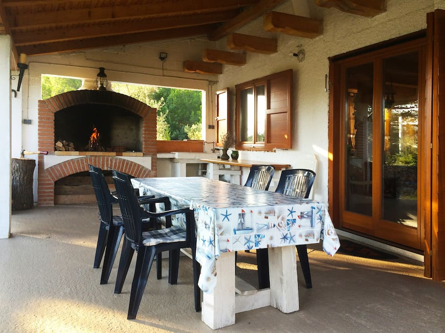 Terrace with Barbecue