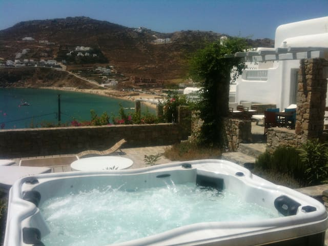 4 BEDROOM HOUSE WITH SEA VIEW-8 PAX - Mykonos - House