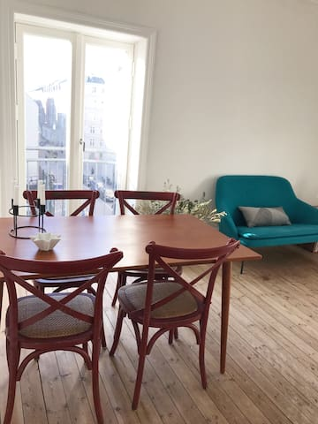 Charming apartment near Copenhagen central station - Copenhaga - Apartamento