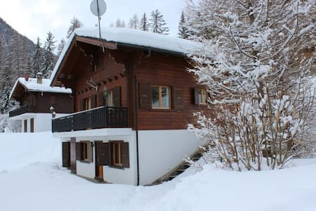 Charming Traditional Swiss Chalet - Riddes