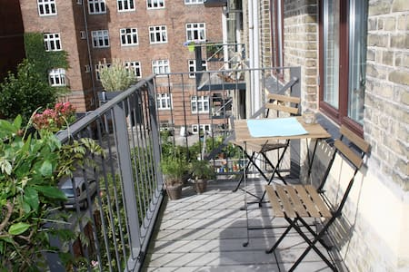 2 double beds, bikes, free parking - Frederiksberg - Apartment