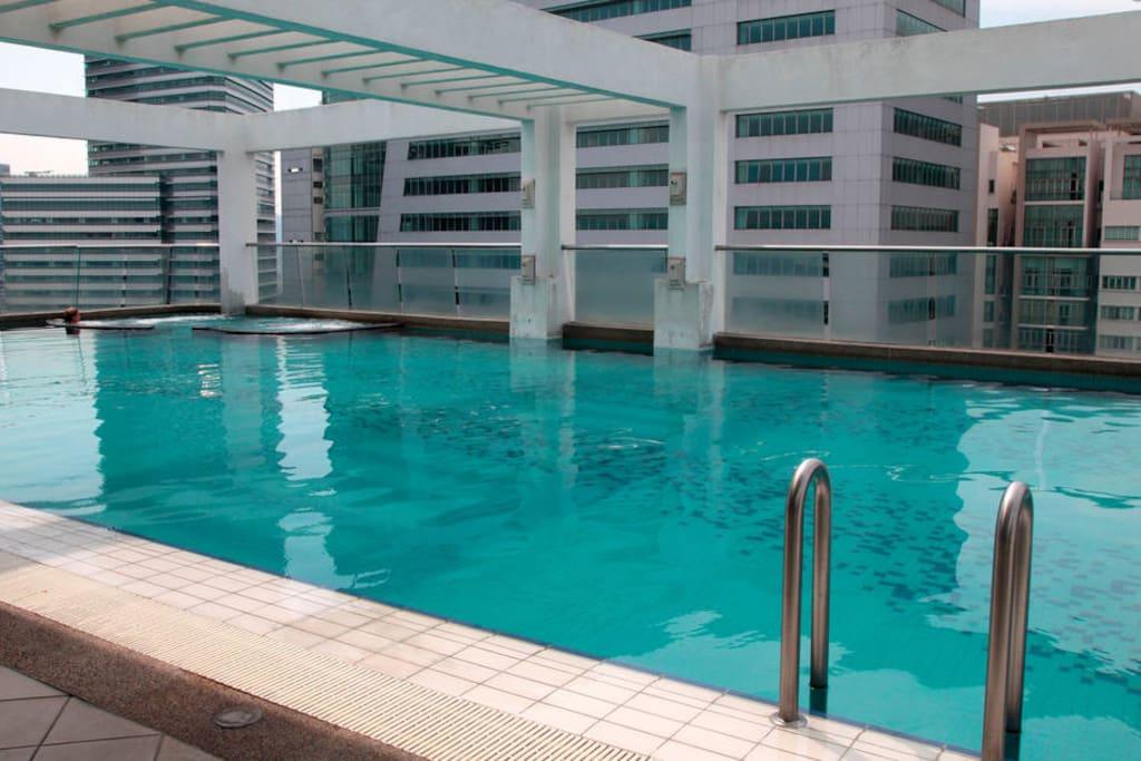 KLCC view pool