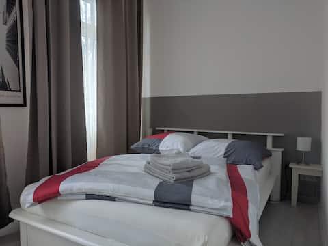 Einfache kleine Wohnung