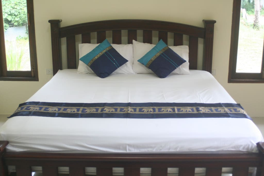 Sleep Well! In one of our King Sized Beds