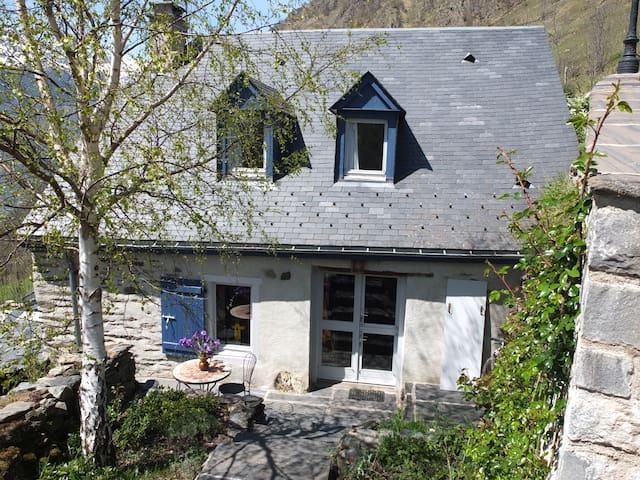Maison de montagne avec superbe vue 6 personnes - Sers - Casa