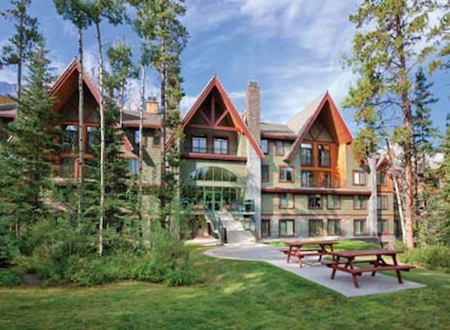 ALBERTA, CANADA  Canmore - Banff's Mountain Resort