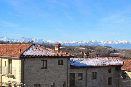 Wohnung in Landgut mit Panorama - Rocca Cigliè - Talo