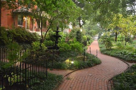 Secret Garden Near Central Park