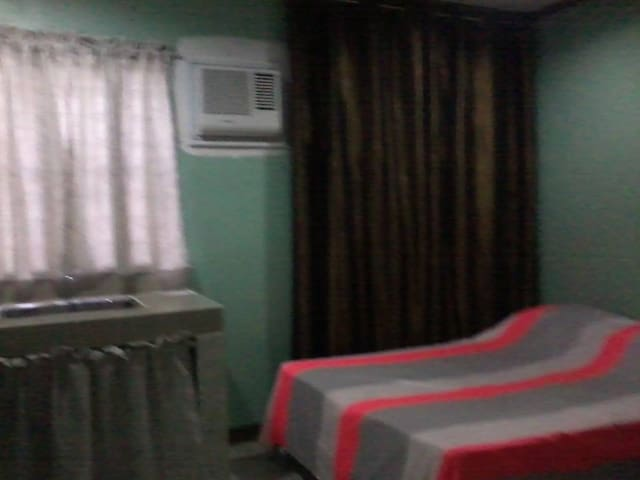Aircondition room can accomodate 4-5 persons designed for family and friends.