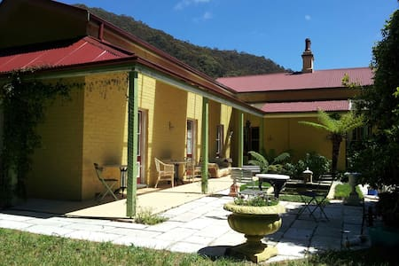 B&B in a heritage home, edge of Lithgow - Hermitage Flat