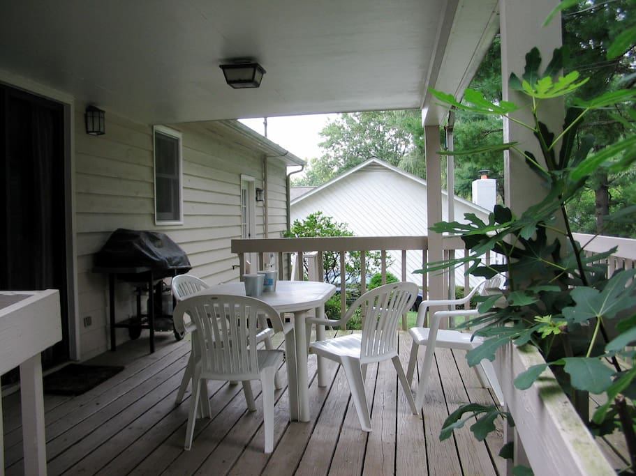 BACK DECK WITH GRILL