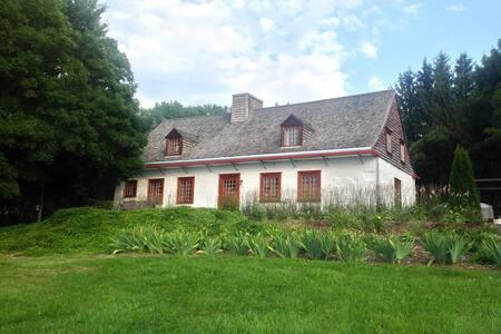 Maison ancestrale à l'île d'orléans - Sainte-Famille