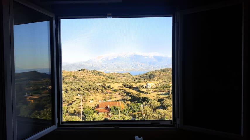 Attic full view near Naypaktos