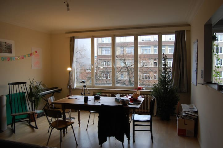 Room in Brussels (Schaerbeek) - Schaerbeek - Apartemen