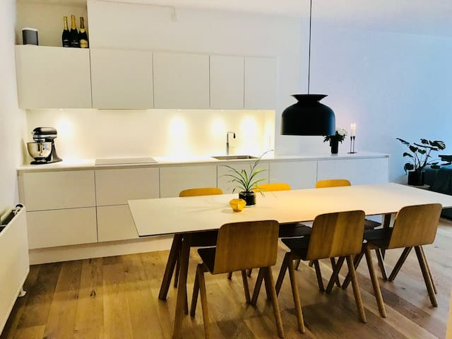 Nice and Spacious apartm near Metro, Frederiksberg