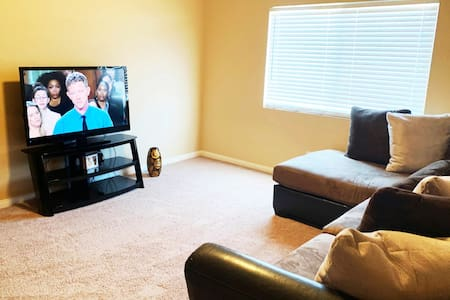 Elegant large TV/den room in Executive Style home