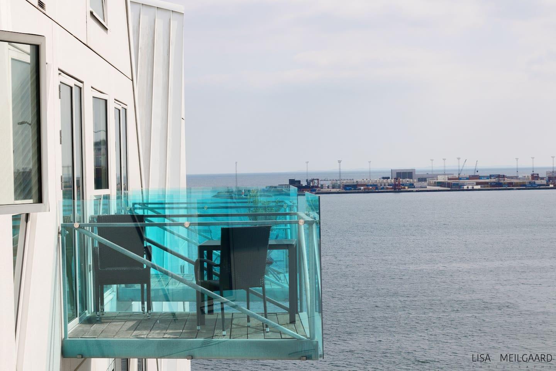 Amazing sea view apartment (The Iceberg), Aarhus C