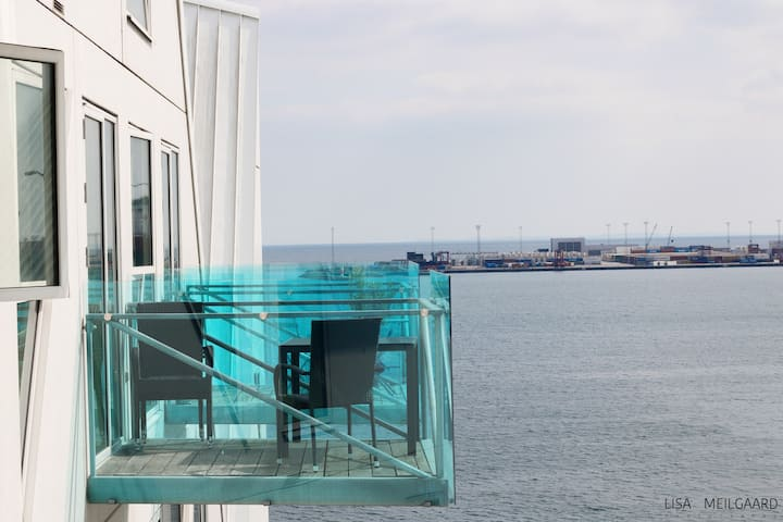 Amazing sea view apartment (The Iceberg), Aarhus C