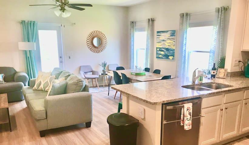 Beautiful, modern open-concept living space!