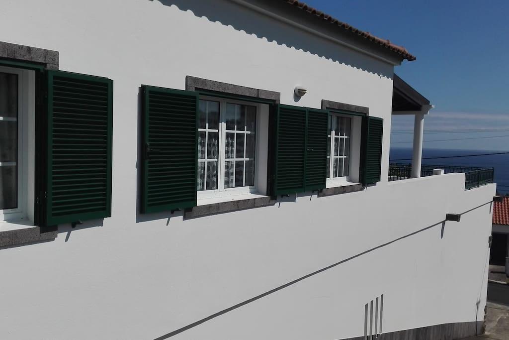 Exterior da casa