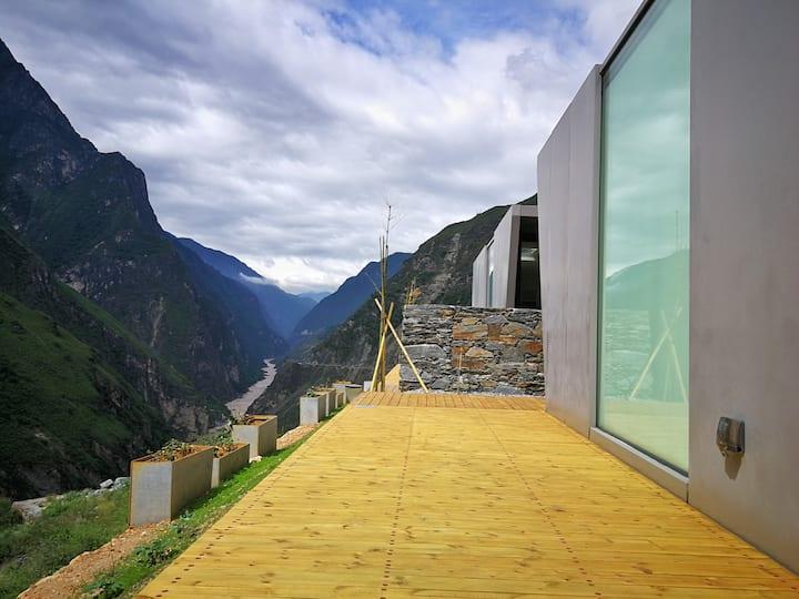 秘境·半山虎跳峡体验营地山景大床房×2