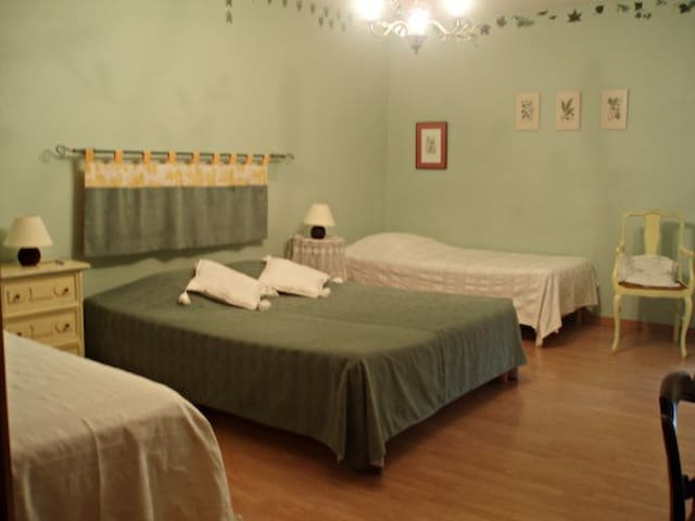 Chambre Herbier - Le petit Dennevy - Dennevy - Gästehaus