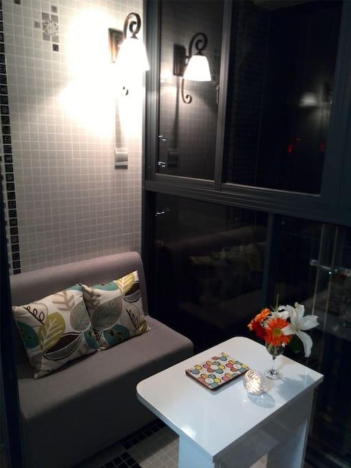 浪漫阳台Romantic balcony,静谧时光 leisure & Enjoyment