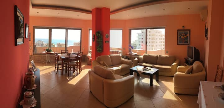 Durrës Penthouse Apartment with Sea Views.