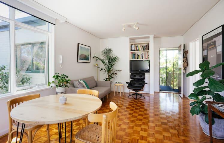 Cosy 1BDR flat - Ascot Vale - Apartemen