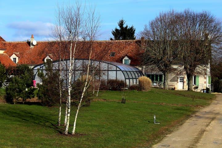 Chambre d'hôtes proche du zoo parc de  Beauval - Couffy