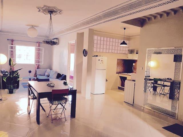 Appartement LOFT 3 pièces Gueliz Marrakech 95m2