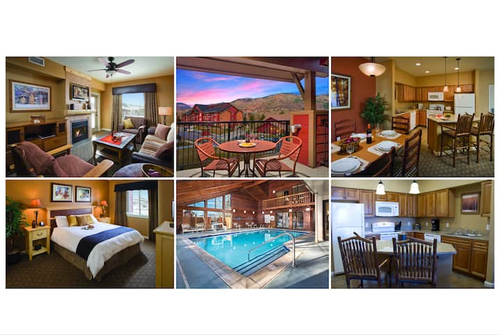 5★ Steamboat Condo~NO FEES~Slps 4~FREE SKI SHUTTLE