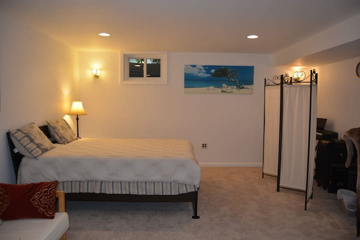 Basement spacious room in a house - North Potomac