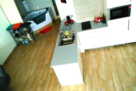 67m loft with Jacuzzi - Madrid - Appartement