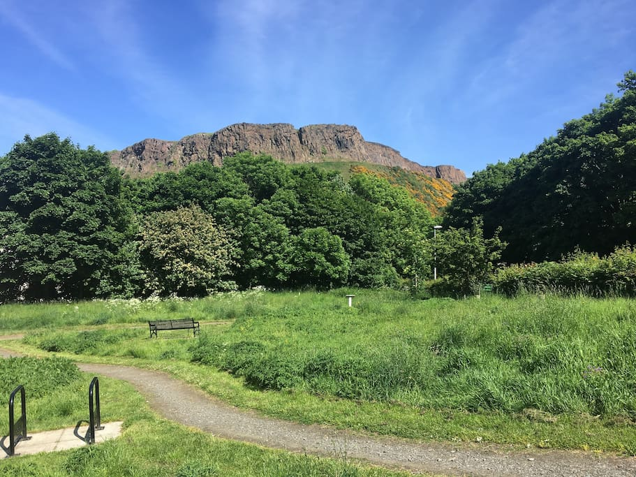 Walk from flat to Arthur's Seat