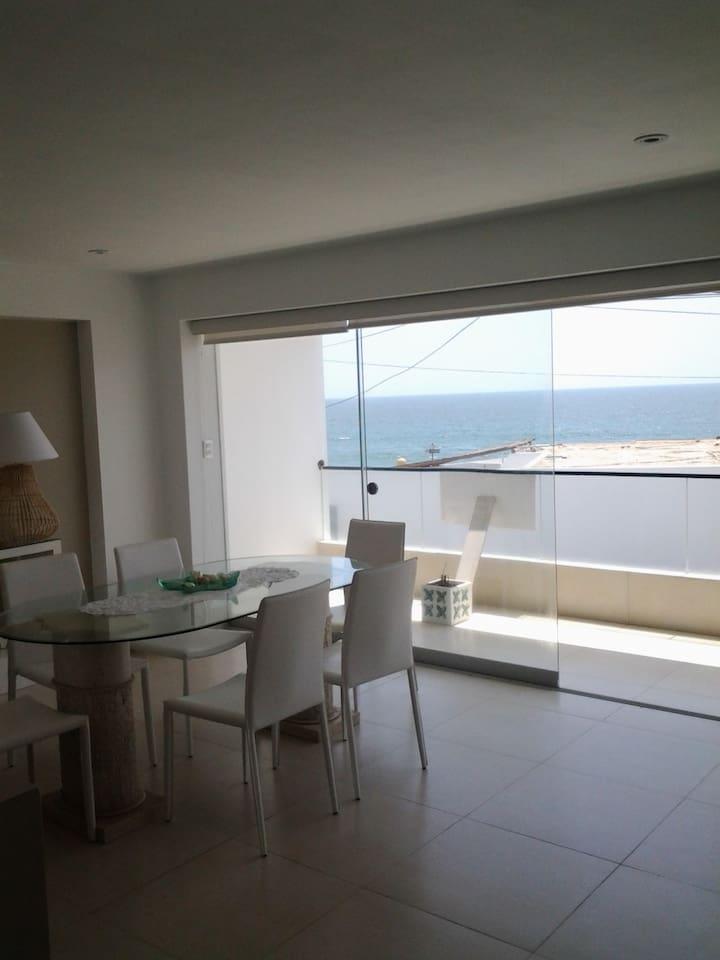 Departamento en Playa Norte, Punta Hermosa