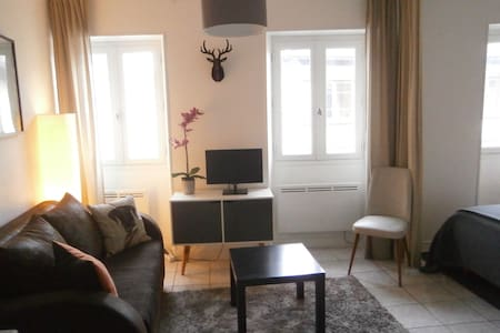 Joli studio classé 3 *centre Bagnères Bigorre
