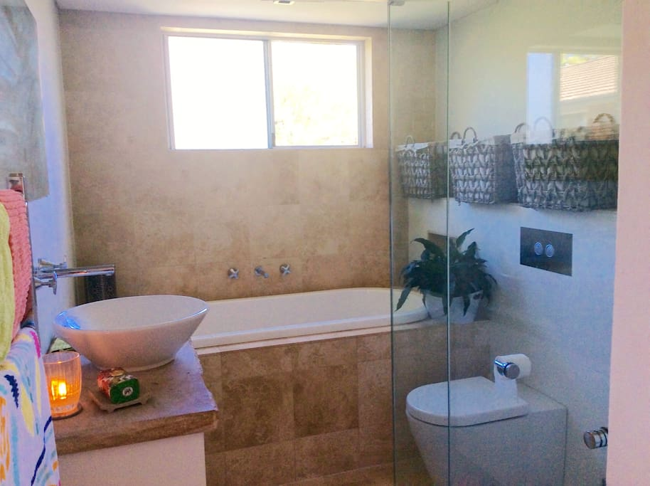 Beautifully appointed bathroom