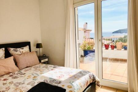 Apartamento encantador con terraza y parking