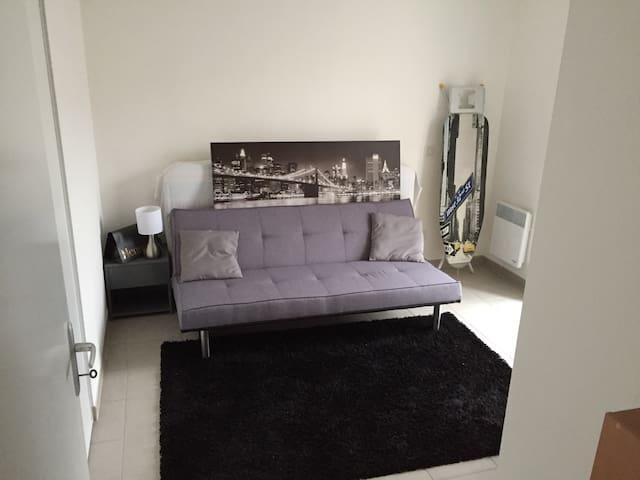 Chambre équipée dans appartement T3 - Niort - Pis